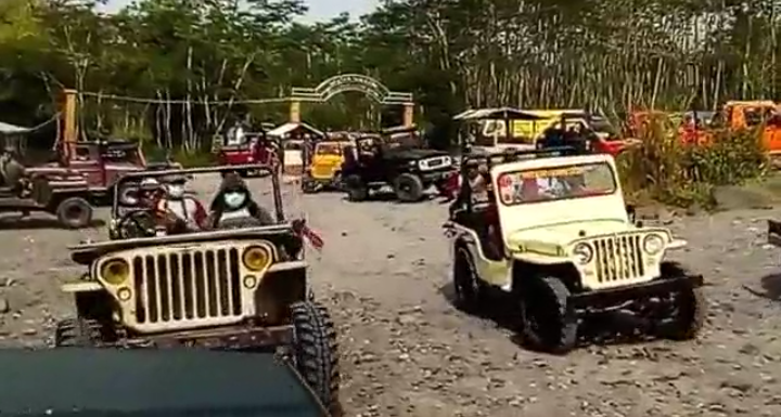 Jeep Lava Tour Merapi Yogyakarta [full] - TravelVLog #42